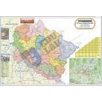 Uttarakhand Political Map Chart